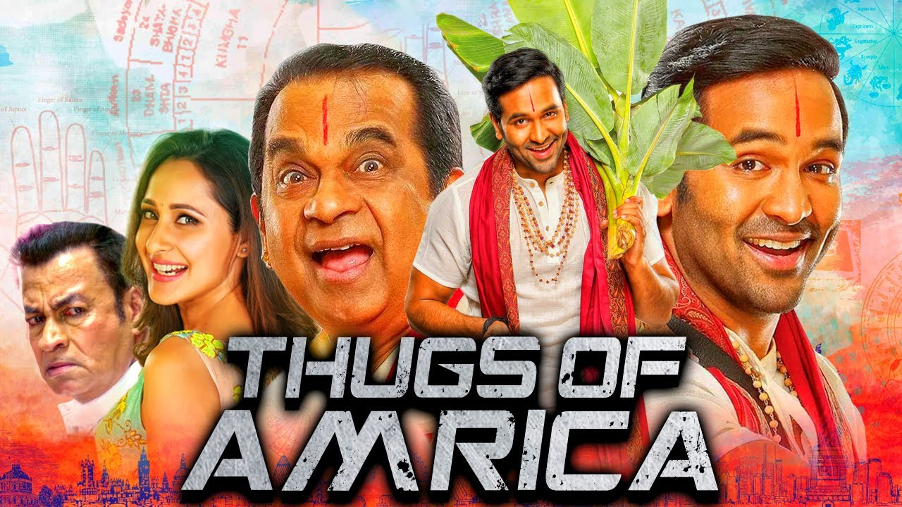 Download Thugs Of Amrica - Vishnu Manchu Comedy Action Hindi Dubbed Movie | Brahmanandam