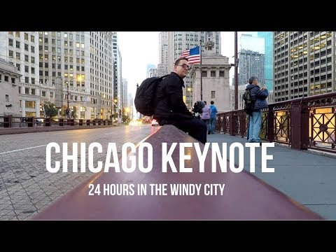 CHICAGO KEYNOTE - 24 HOURS IN THE WINDY CITY - Peter Lorimer Vlog #57