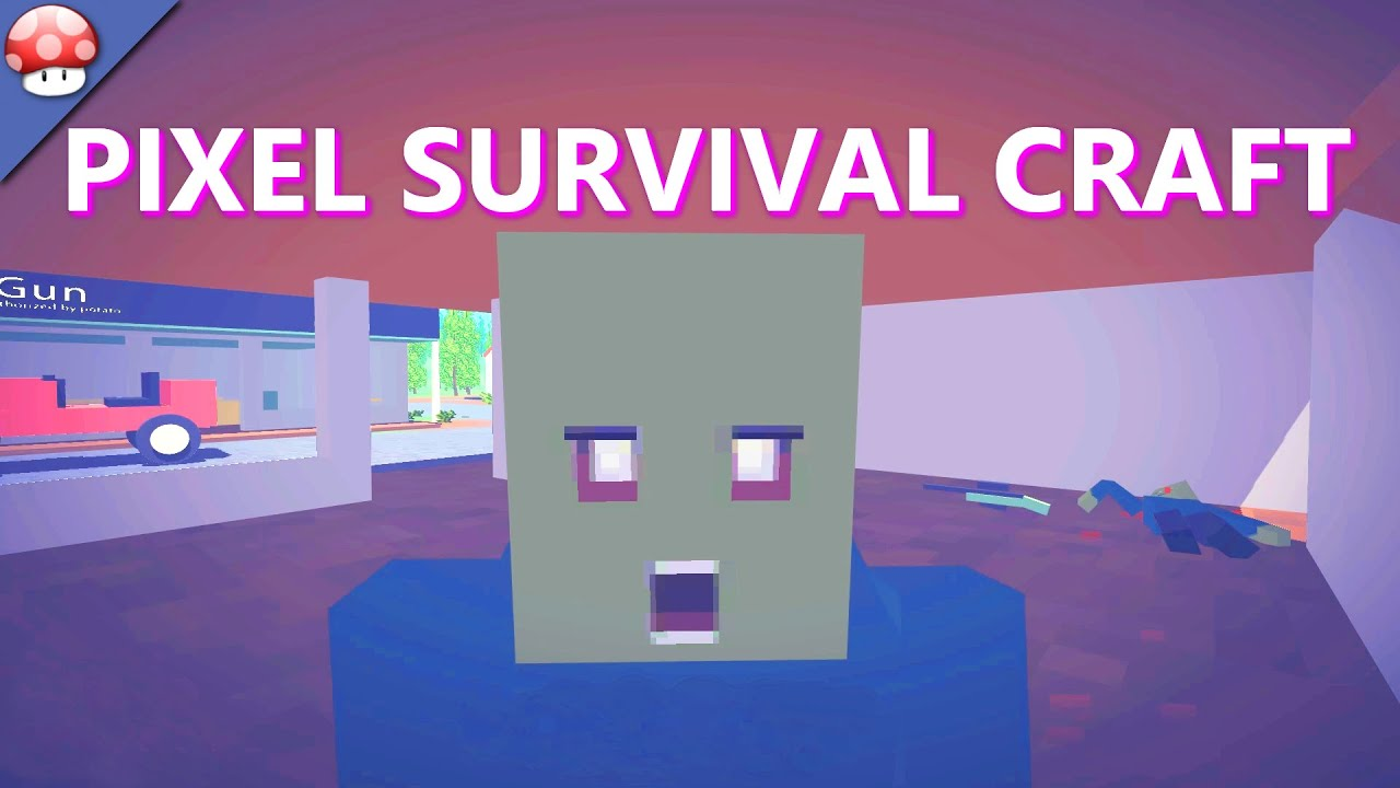 Pixel survival craft gameplay pc 60fps 1080p youtube for Survival craft free download pc