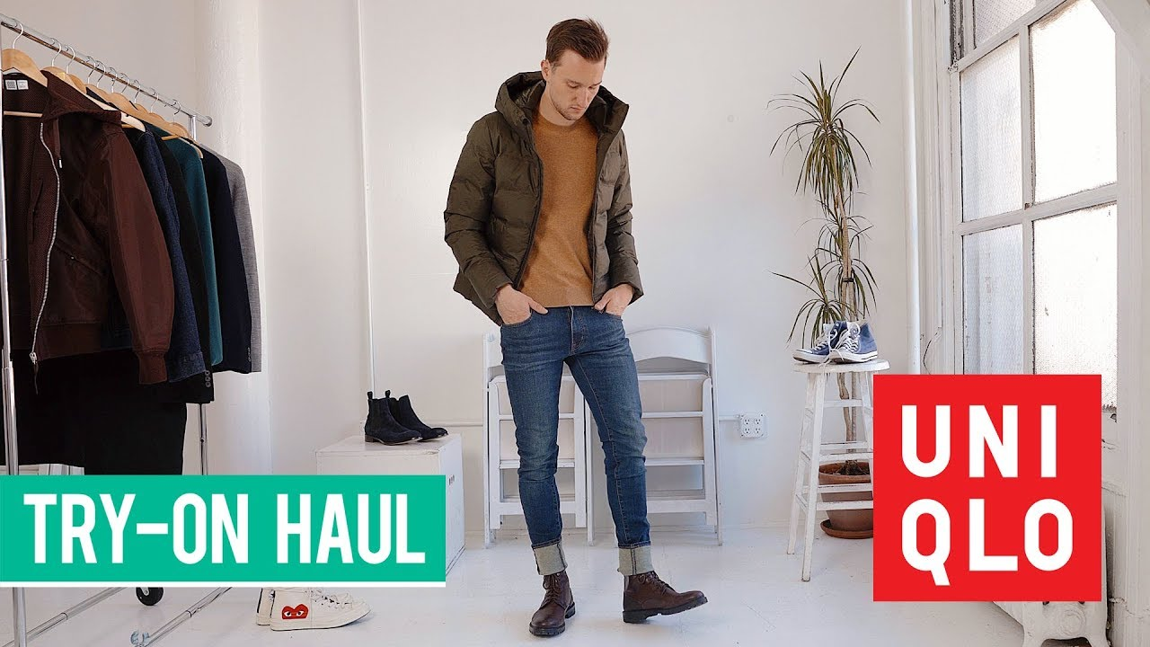 Uniqlo Autumn 2018 Try On Haul | Men's Fall Fashion | Lookbook & Style Inspiration