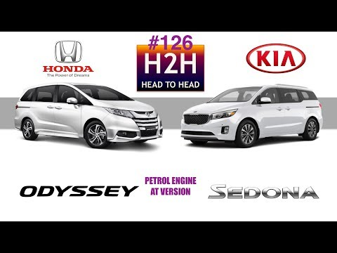 h2h 126 honda odyssey vs kia sedona youtube. Black Bedroom Furniture Sets. Home Design Ideas