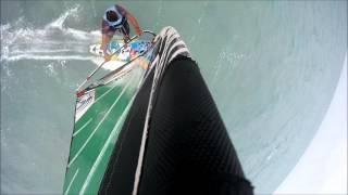 Windsurfing at 25-30 knots at ELEMENT WATERSPORTS, EL Gouna