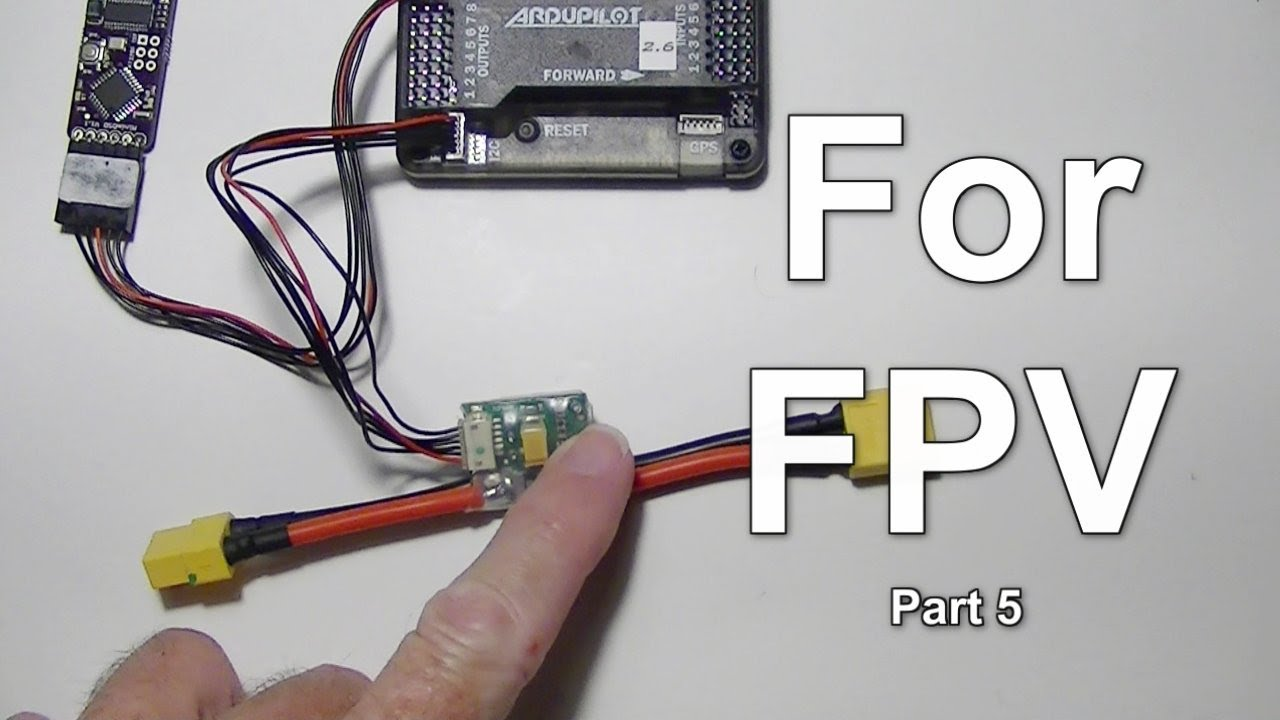maxresdefault fpv part 5 3dr apm 2 6 setup for power module and minimosd  at gsmportal.co