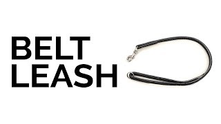 Leerburg Amish Belt Leashes - Perfect For Police K9 Handlers Or Off Leash Dog Training