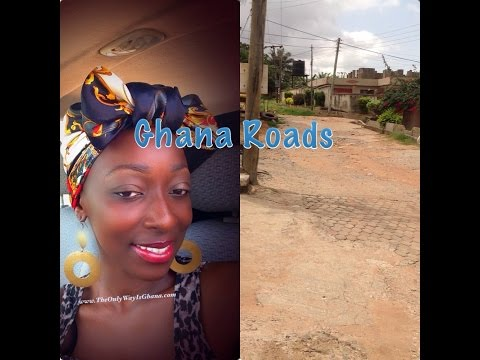 My Ghana Road and the start of a typical day for me