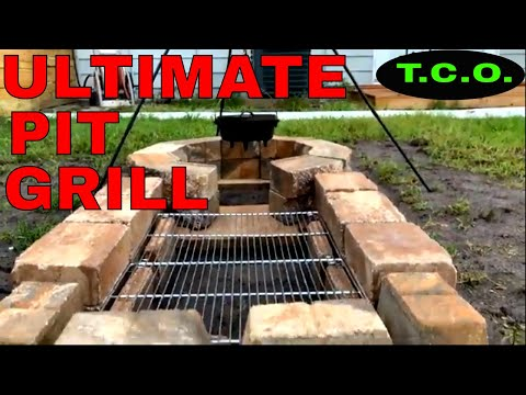 ULTIMATE DIY PIT GRILL BUILD