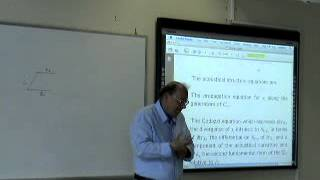 D. Christodoulou, Lecture 3/4 at UOA: The analysis of shock formation in 3-D fluids. B