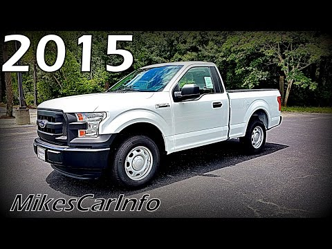 2015 Ford F-150 XL Regular Cab RWD