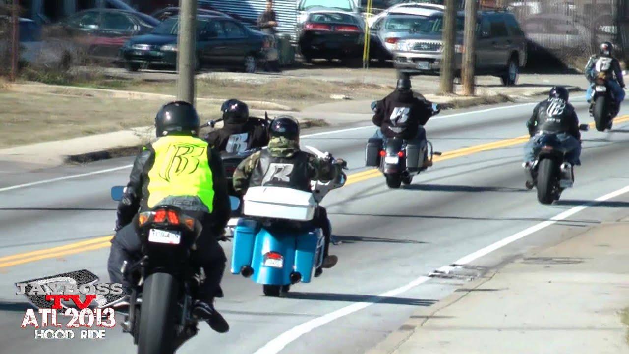 Atl Ruff Ryders Hood Ride 2013 Youtube