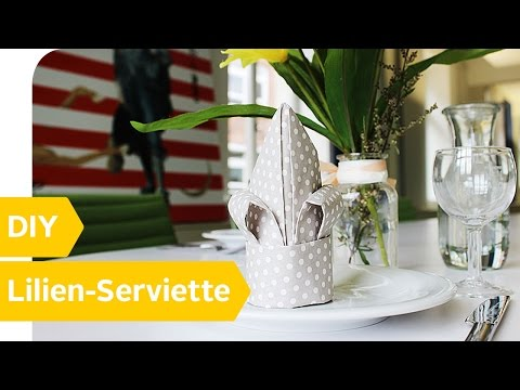 Servietten Falten 15 Anleitungen Und Videos Otto