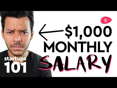 Starting a Business: Startup Founder Salary and Stock Vesting