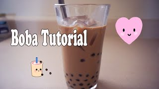 Making Boba Coffee : Cooking Tutorial