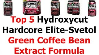 Top 5 Hydroxycut Hardcore Elite Svetol Green Coffee Bean Extract Formula Review Video 5 | Weight Loss Bestsellers And Top Rated Products