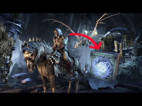 ESO: CROWN CRATES - Scalecaller: Mounts, Costumes, And More! (Data Mined)