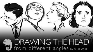 Drawing the head from different angles