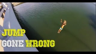 JUMP INTO WATER GONE WRONG fails pt.3 [FailForceOne]