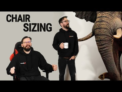 Gaming Chair Size   Which one fits you?
