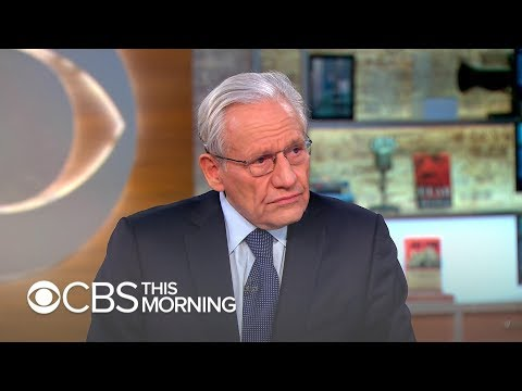 """Bob Woodward says he would release """"Fear"""" interview tapes if needed"""