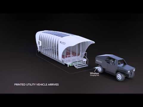 Americanos constroem edifício solar capaz de cooperar energeticamente com veículos elétricos