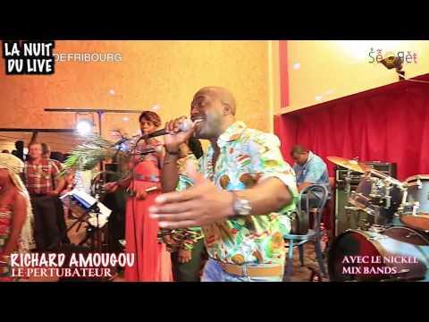RICHARD AMOUGOU A LA NUIT DU LIVE DE FRIBOURG EN SUISSE