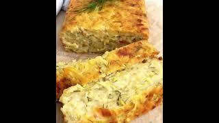 Кабачковый пирог с сыром рецепт в описах