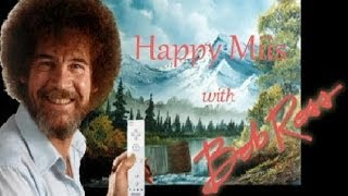 HAPPY Miis with BOB ROSS - Dale Gribble + Spider & Garfield Miis