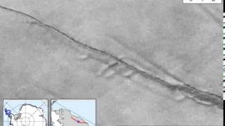 بالفيديو.. العالم يترقب جبل جليدي عملاق ينفصل عن أنتاركتيكا