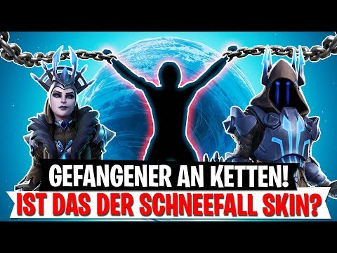 GEFANGENER IN KETTEN! Schneefall Skin & Story Theorie | Fortnite Battle Royale