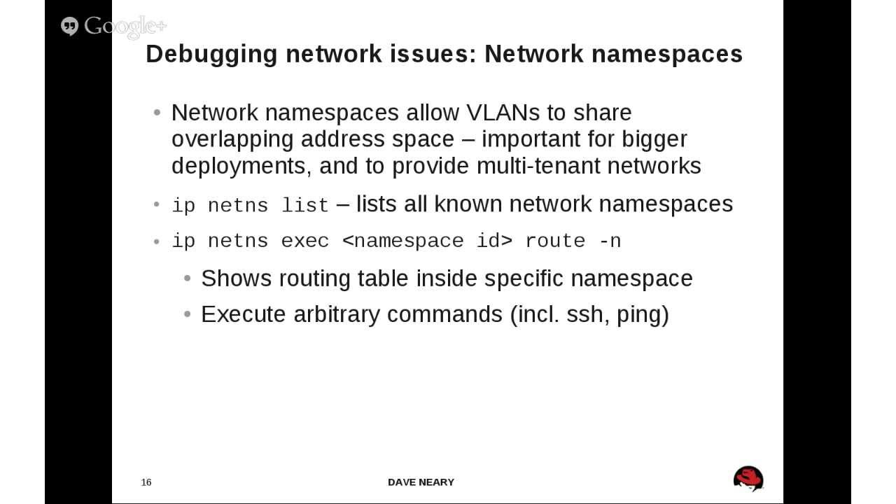 Networking — RDO
