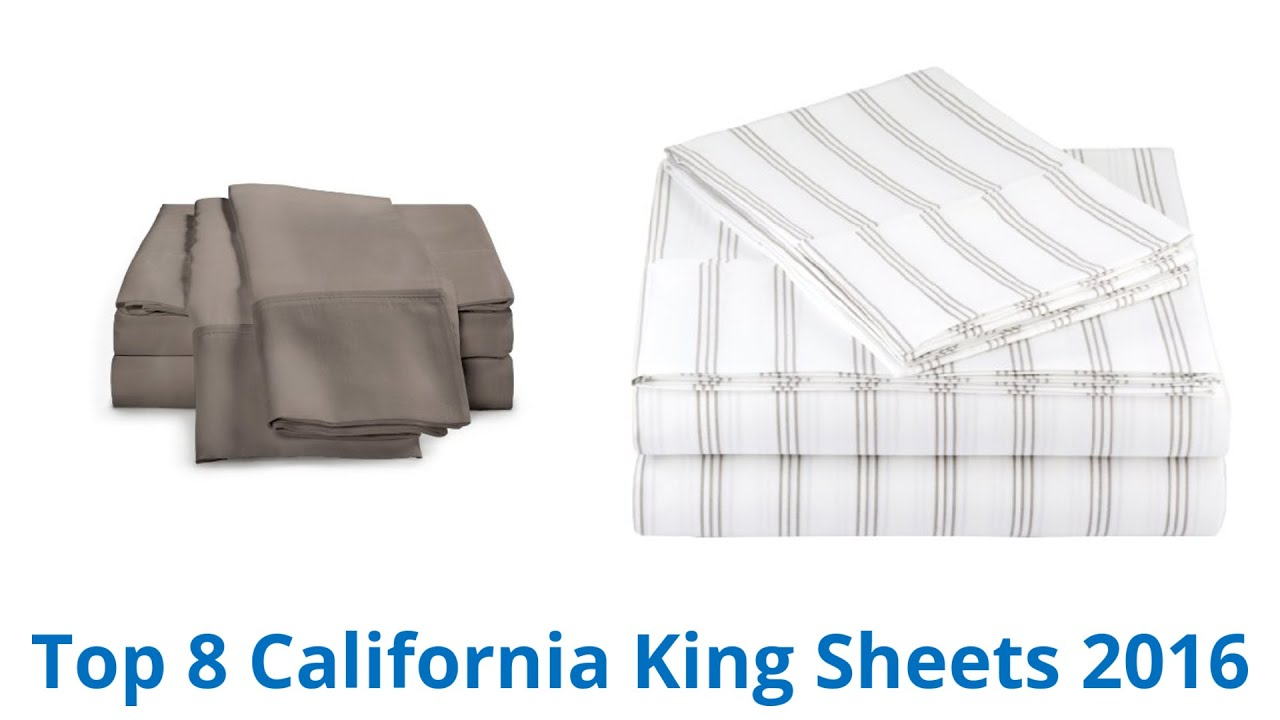 8 best california king sheets