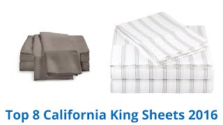 8 Best California King Sheets 2016(, 2016-04-14T03:05:09.000Z)