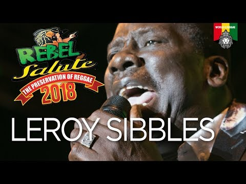"""Leroy """"Heptone"""" Sibbles live at Rebel Salute 2018"""