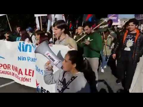 El estudiantado se moviliza contra la Lomce