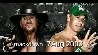 अंडरटेकर के 7 सबसे बड़े मैचेस जो कभी नही देखे गए 7 best matches of undertaker that never have seened