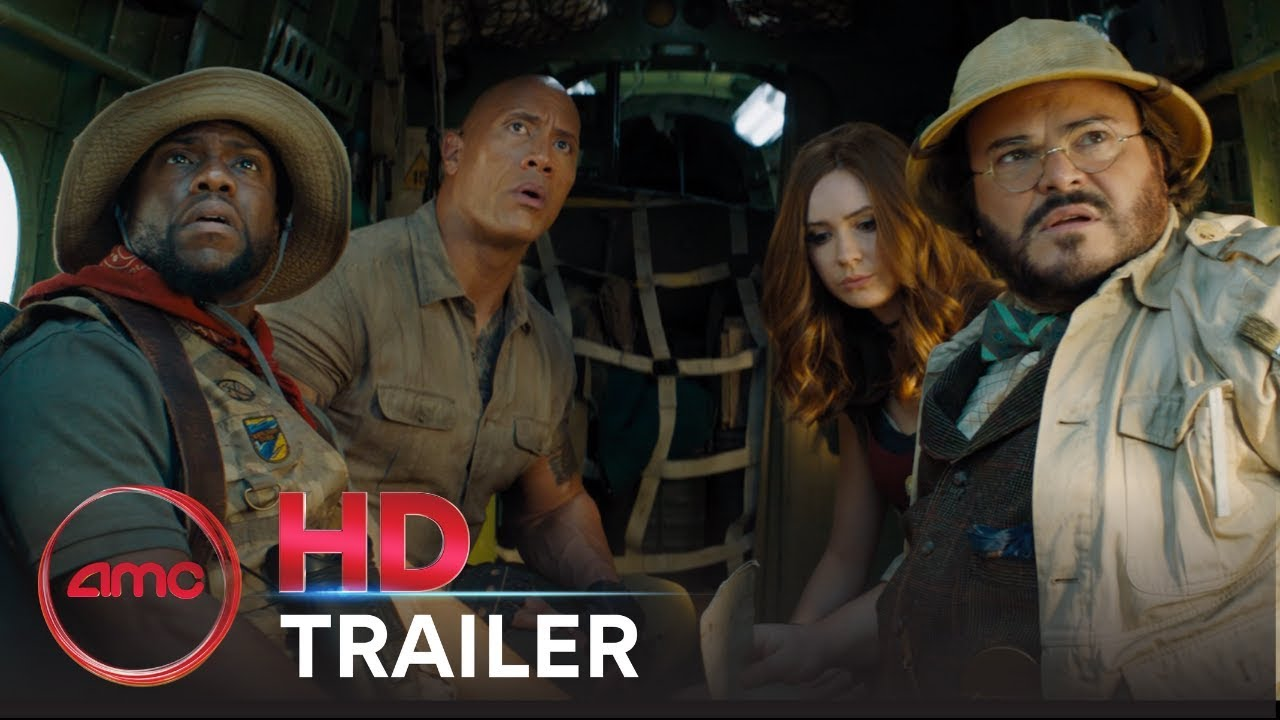 JUMANJI: THE NEXT LEVEL - Official Trailer (Karen Gillan, Dwayne Johnson) | AMC Theatres (2019)
