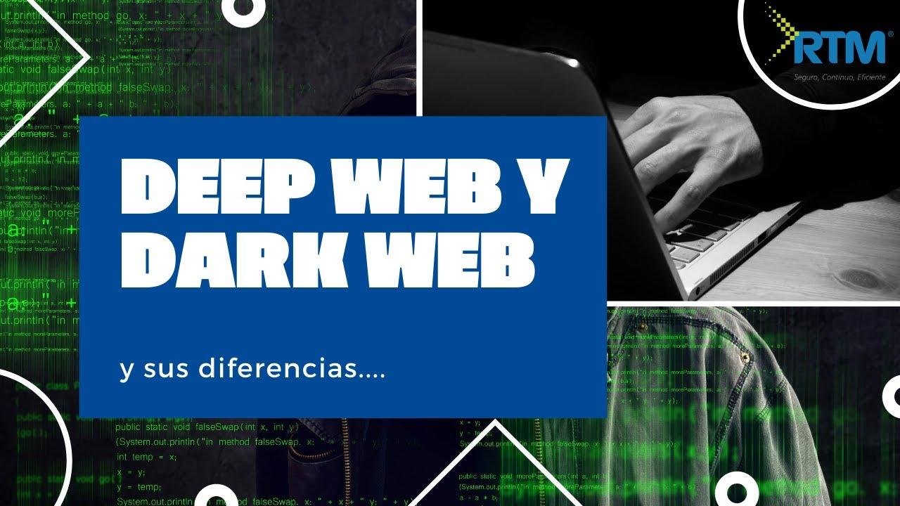 Diferencias entre Dark web y Deep web - Con ejemplos