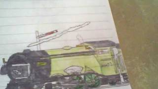 Flying Scotsman Drawing.wmv