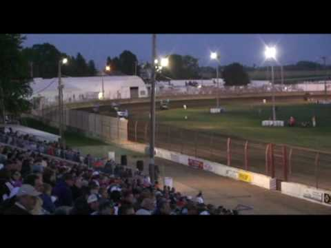 IRA Heat Races Dodge County Fairgrounds 9-19-09