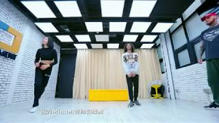 [HD] Victoria f(x) - Hot Blood Dance Crew Dance Rehearsal with Choreographer, Miguel Zarate