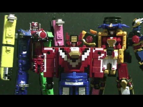 파워레인저 닌자포스 닌자킹 장난감 power rangers ninja steel toys - youtube