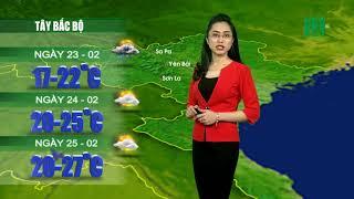 VTC14 | Thời tiết 12h 22/02/2018| Ngày mai Miền Bắc lạnh nhất trong đợt rét này