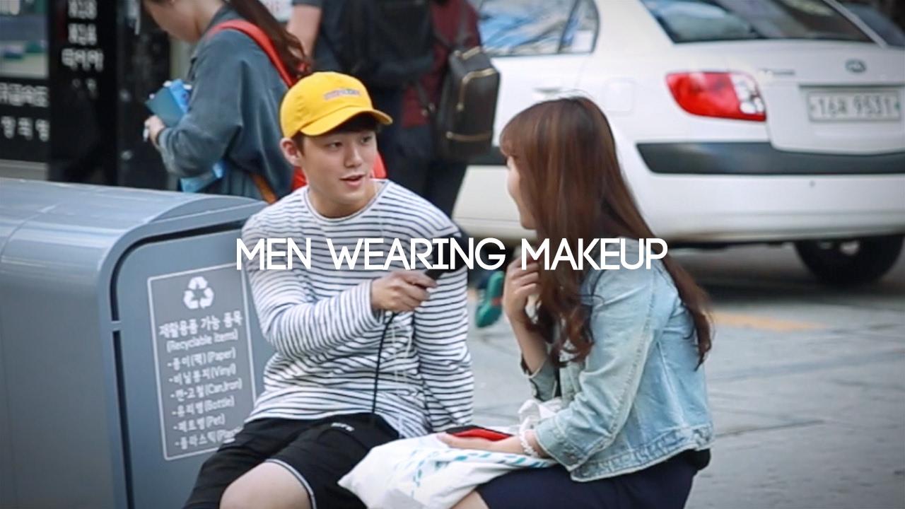 JAYKEEOUT : Asking Girls, Men Wearing Makeup? - YouTube