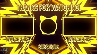 Top 5 Outro Templates Free Download ( ENDSCREEN NO TEXT ) PART 3