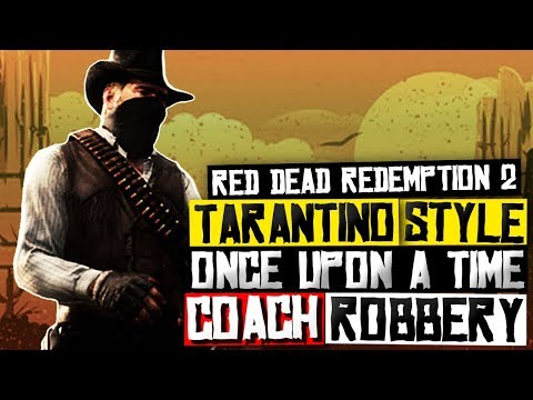 Red Dead Redemption 2 TARANTINO STYLE - Once Upon A Time In The West (Coach Robbery) thumbnail