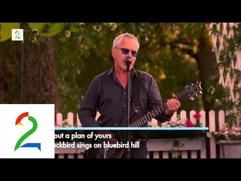 "Nik Kershaw - «The Riddle"" - Allsang på Grensen 2014"
