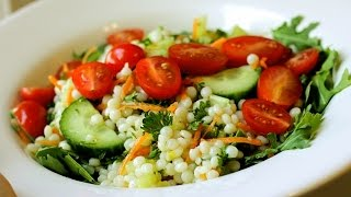 Pearl Couscous Recipe ...simple Pasta Salad