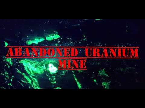 Abandoned Uranium Mine And Surrounding Area