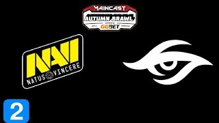 Navi vs Secret Game 2 MC Autumn Brawl Highlights Dota 2