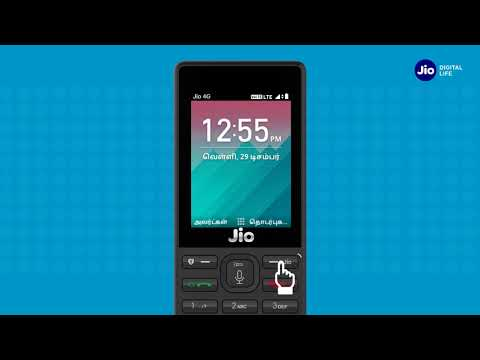 JioCare - How to Save Contact on JioPhone (Tamil) | Reliance Jio