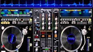mezcla de cumbia sonidera con virtual DJ